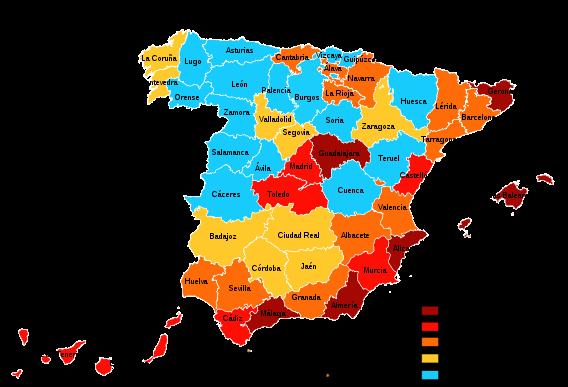 la población española,
